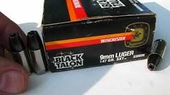 Ammo Test  9mm Luger - 147 Gr Black Talon