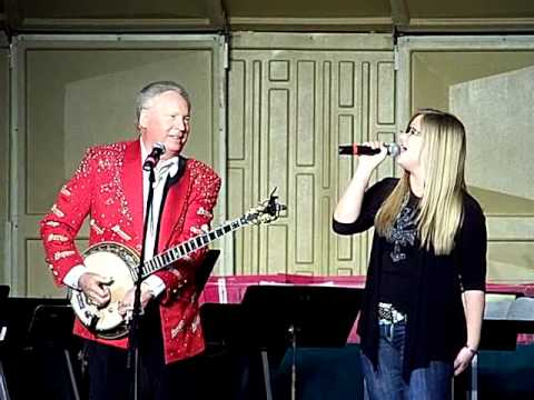 Buck Trent in Cape Girardeau Mo. Dec. 11, 2011 with Maggie Thorn.