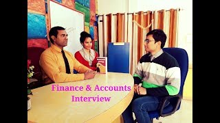 Finance and Accounts Interview Questions : CA Article ship | CS : MBA | Accountant interview
