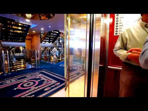 Tallin - Stockholm, Tallink Cruiseferry M/S Victoria 1, MacGREGOR KONE elevator