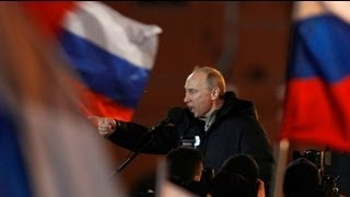 Putin wins Presidential third term hands-down
