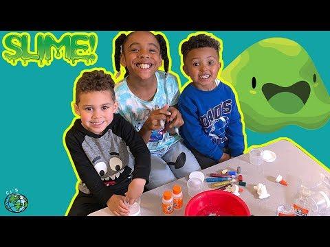 CJ's World | How To Make Slime