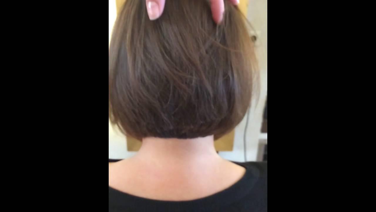 Bob Damen Haarschnitt im Friseursalon Bredtmann  YouTube
