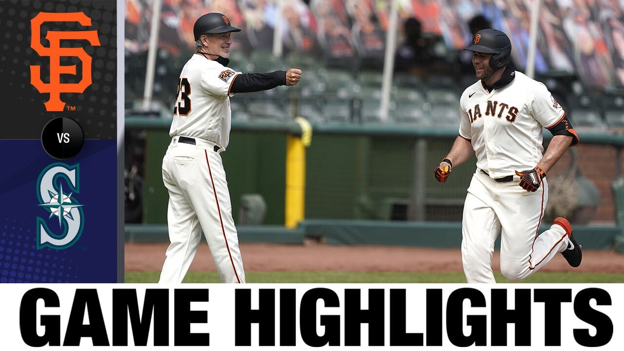 Wilmer Flores powers the Giants past the Mariners | Giants-Mariners Game Highlights 9/17/20