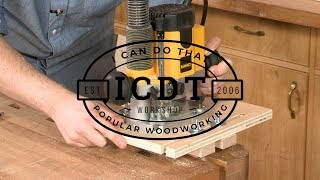 How to Make a Router Mortising Jig   I Can Do That!