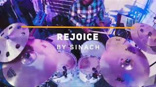 rejoice by sinach rccg praise drum cam