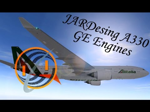 JARDesign Airbus 330 [GE Engines] for X-Plane 10 by ikzay iker