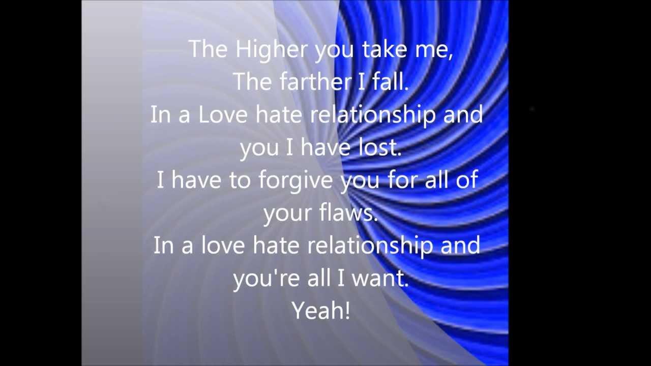 Trapt love hate relationship
