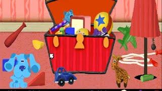 blues clues 203 lights on lights off windows game 1998