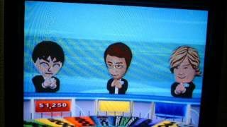 Wheel of Fortune Nintendo Wii Run Game 70