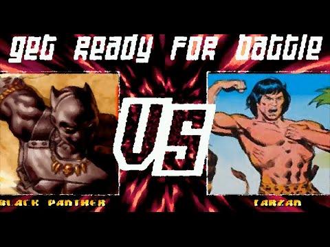Mugen : Black Panther (Marvel) Vs Tarzan