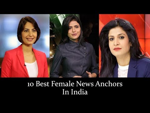 10 Best Female News Anchors In India