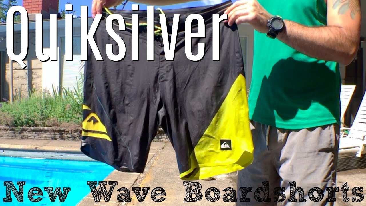 46b18c48ce Quiksilver New Wave Boardshorts // Ultimate Travel Shorts