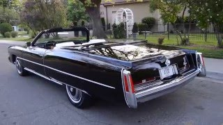 1974 Cadillac Eldorado Convertible - Ross's Valley Auto Sales - Boise, Idaho