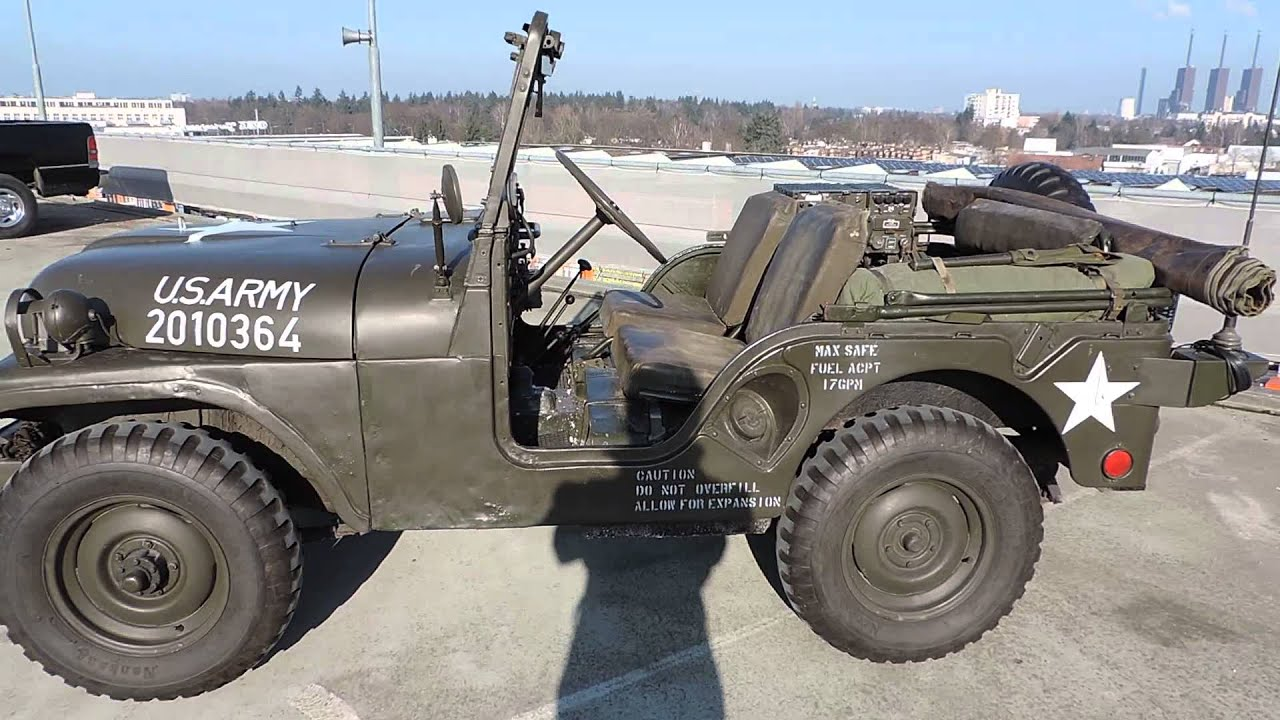 1955 Willys Jeep US Army