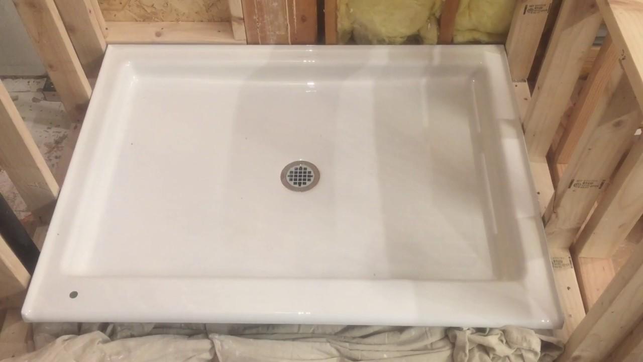 Kohler Purist Cast Iron Shower Base Overview for my Bathroom