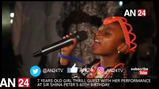NIGERIAN KIDS GOT TALENT 7 YEARS OLD GIRL IN A TERRIFIC PERFORMANCE AT SSP PARTY