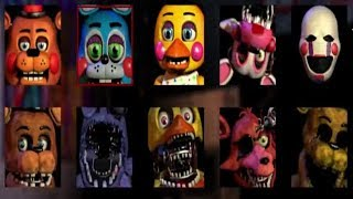 - FNaF Jumpscare Simulator ВСЕ СКРИММЕРЫ ФНАФ