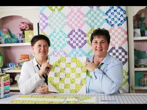 How To Make The Text Me Quilt Pattern By Me & My Sister Designs - Fat Quarter Shop