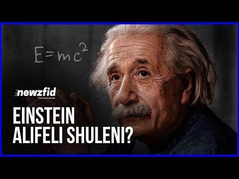Mambo 10 Usiyofahamu Kuhusu Albert Einstein