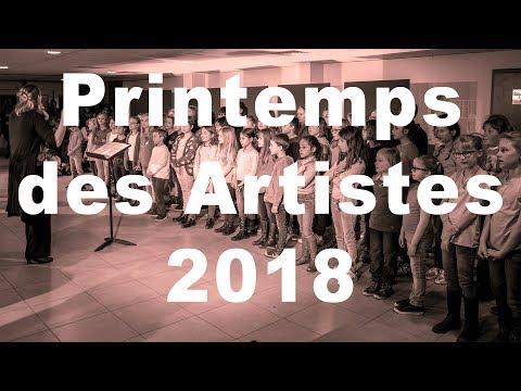 """""""Studio ATB 54) Printemps des Artistes 2018 Cours de Chant conservatoire de HUY"""