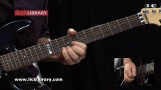 Highway Star Deep Purple Ritchie Blackmore Guitar Solo Slow & Close Up With Danny Gill Licklibrary