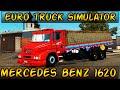 Euro Truck Simulator 2 - Mod MERCEDES-BENZ 1620  - Mapa EAA