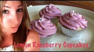 Lemon Raspberry Cupcakes | Five Minute Pastry School