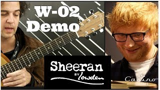 SHEERAN BY LOWDEN W 02 DEMO