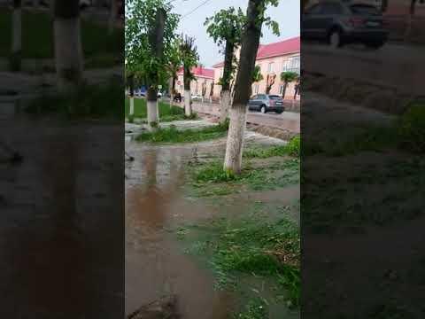 В Лениногорске потоп