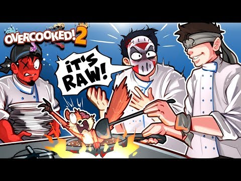 Over Cooked 2 - BEST CHEFS IN THE KITCHEN!!!! 2v2!