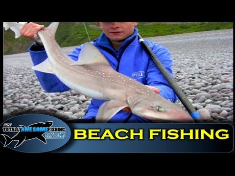 Beach fishing tips (Part 5) - Storm Beaches - The Totally Awesome Fishing Show