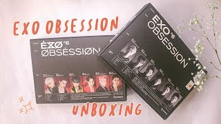 Baixar Unboxing EXO 엑소 OBSESSION the 6th album | EXO and X-EXO Versions