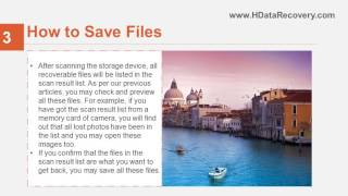 HData Recovery Tutorial   2 Steps to Save Files Which Has Been Scanned