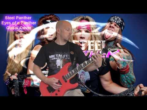 Steel Panther - Eyes of a Panther - Guitar Cover