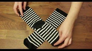 Ich lege schon immer die Socken falsch zusammen! Warum hat mir das keiner gezeigt?
