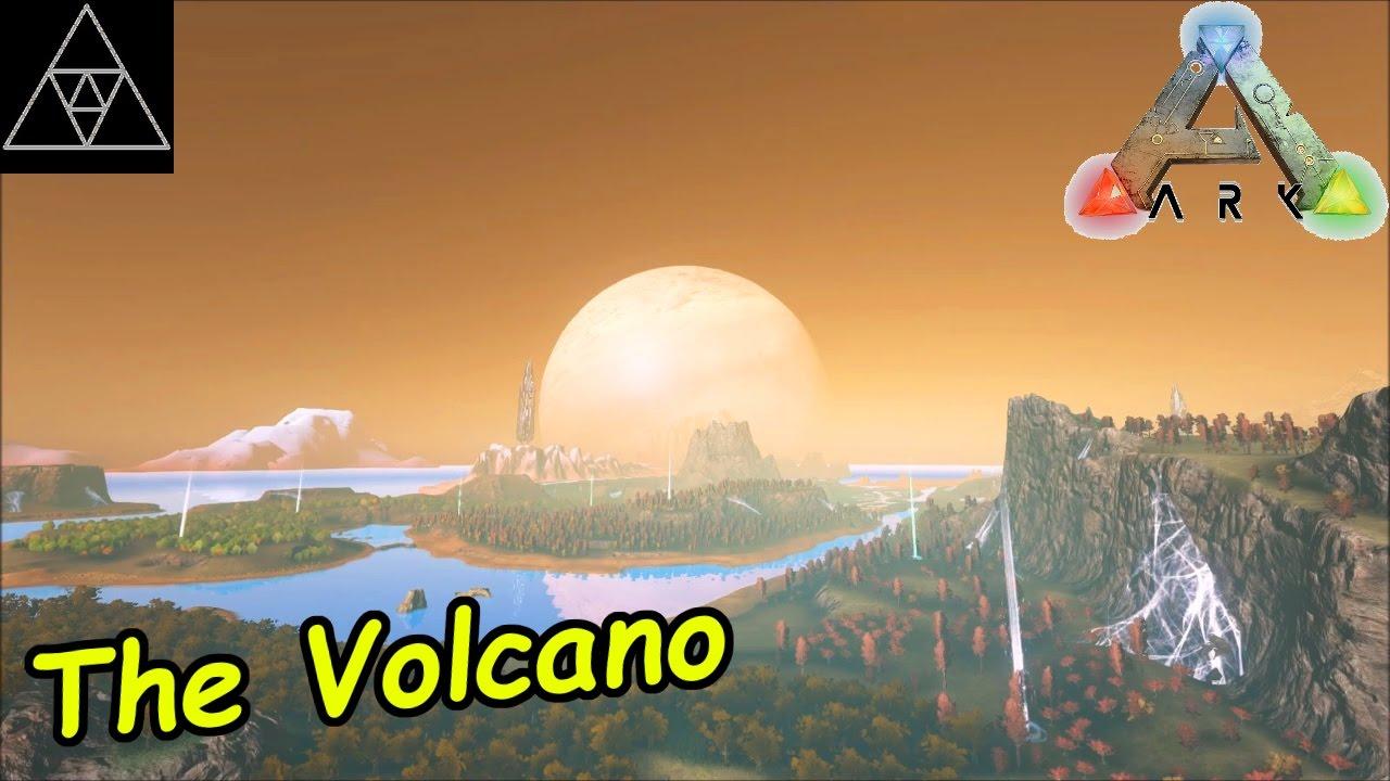 Ark Karte The Island.Ark Modded Karten 006 The Volcano Map Check Dino Nester Baby Titanboas