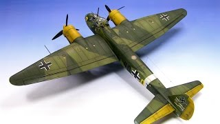 Junkers Ju-88 A-4 Revell 1/72 Step by Step - Part 2