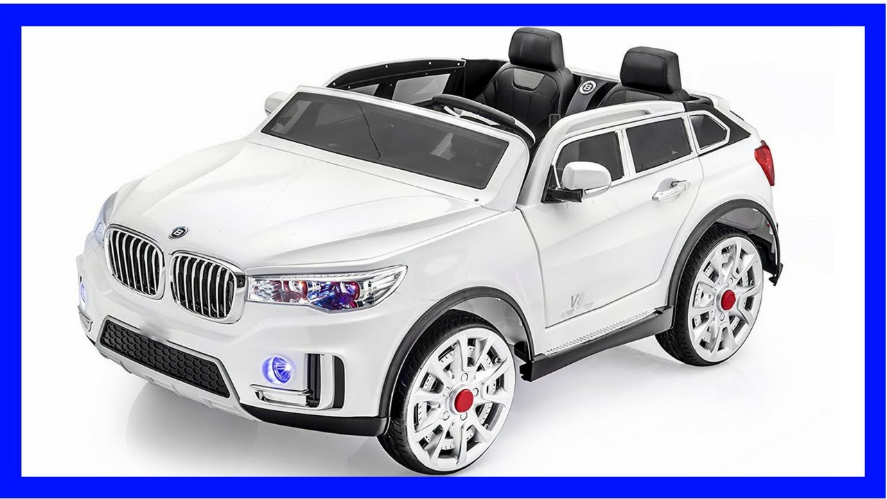 Bmw Jeep With Stunning 2 Seater 12v Battery Operated Ride On Car
