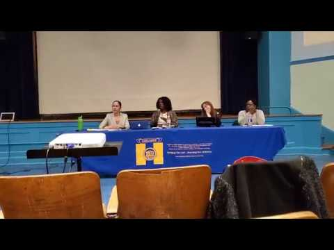DOE hearing about restructuring Summit Academy Charter School  4/9/19.