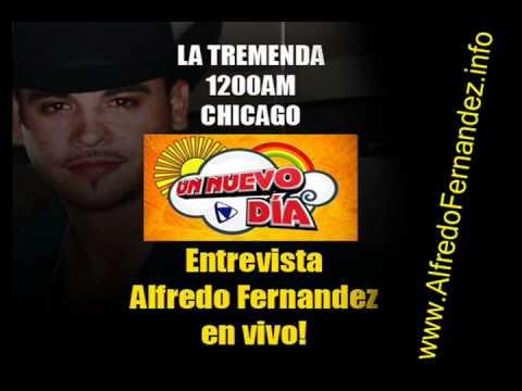 Alfredo Fernandez entrevista 2010 en LA TREMENDA 1200AM Chicago