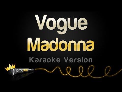 Madonna - Vogue (Karaoke Version)
