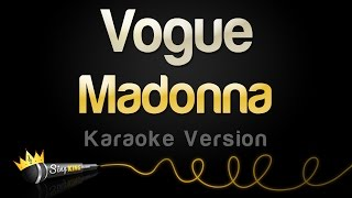 Madonna - Vogue (Karaoke Version)