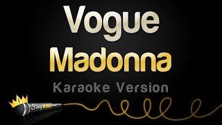 Madonna - Vogue  Karaoke Version