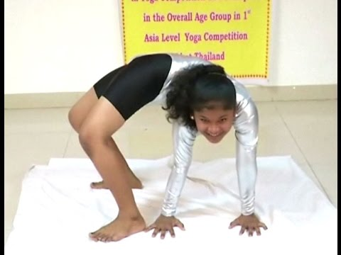 14-year-old wins gold for India at the Asian Yoga Meet