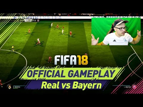 FIFA 18 FULL GAMEPLAY REAL MADRID vs BAYERN MUNICH 1080 FULL HD 60 FPS