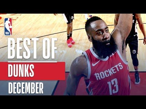 NBA's Best Dunks | December 2018-19 NBA Season