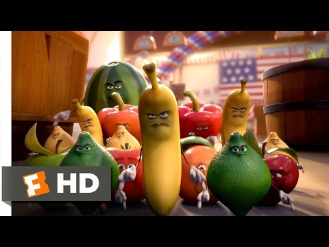 Sausage Party (2016) - The Fruits Attack Scene (10/10)   Movieclips