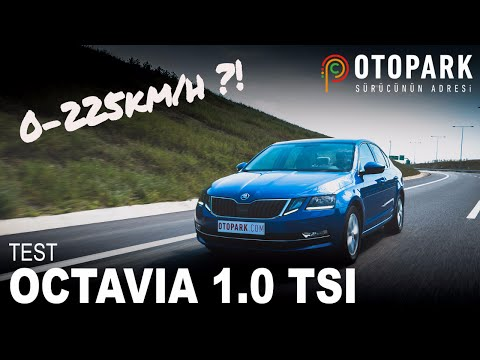 Skoda Octavia 1.0 TSI DSG | TEST | 1 Litrelik Motor Yeterli Mi?