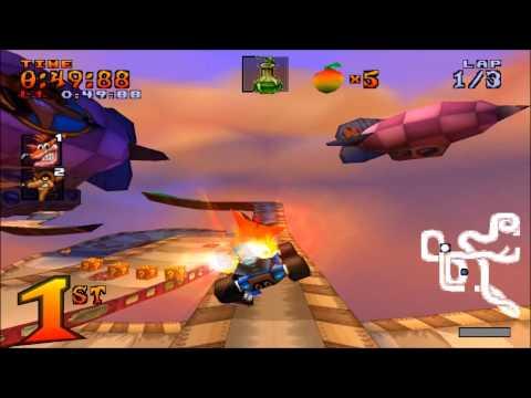 Crash Team Racing - All Boss Races